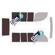 Kit film solaire Fiat Doblo (1) 4 portes (2001 - 2009) avec hayon