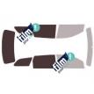 Kit film solaire Fiat Freemont 5 portes (depuis 2011)