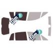 Kit film solaire Fiat Idea 5 portes (2004 - 2012)