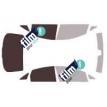 Kit film solaire Fiat Linea Berline 4 portes (depuis 2008)