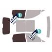 Kit film solaire Fiat Punto (3) Evo 5 portes (depuis 2009)