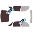 Kit film solaire Ford Escort (6) 5 portes (1990 - 2000)