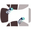 Kit film solaire Ford Escort (3) Berline 4 portes (1997 - 2002)