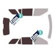Kit film solaire Ford Explorer (5) 5 portes (2010 - 2019)