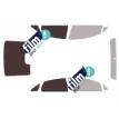 Kit film solaire Ford Fiesta (6) Berline 4 portes (depuis 2010)