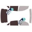 Kit film solaire Ford Focus (2) Berline 4 portes (depuis 2005)
