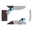 Kit film solaire Ford Focus (2) CC 2 portes (depuis 2006)
