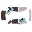 Kit film solaire Ford Focus (1) 5 portes (1998 - 2004)