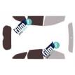 Kit film solaire Ford Focus (3) SW Break 5 portes (2011 - 2019)