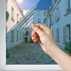 Film miroir sans tain bleu Glass - 50 microns