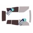 Kit film solaire Ford Maverick (2) 3 portes (1993 - 2001) lunette arrière droite