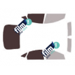 Kit film solaire Ford Mondeo (3) Berline 4 portes (2007 - 2014)