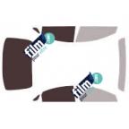 Kit film solaire prédécoupé Mercedes CLS 4 portes (2005-2010)