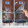 Film anti-chaleur pour simple vitrage - Combiné film de sécurité
