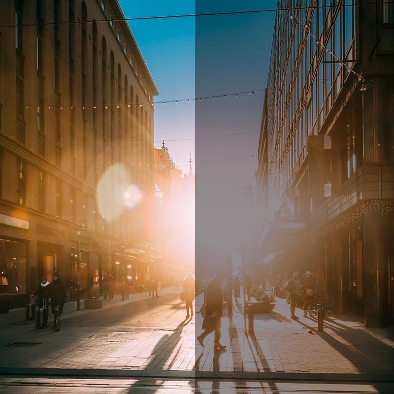 Film Solaire anti chaleur pour fenêtres
